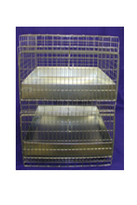 "24""x24"" x 26"" Cavy Condo Cage 2 Hole Plastic Tray(not shippable)"
