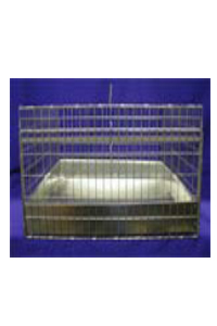24x24x12 Cavy Cage Kit/ Plastic tray