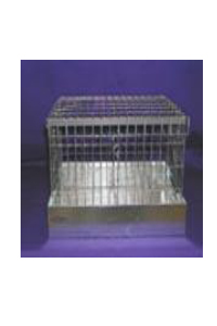 "Rabbit Carrier 16""x 12"" x 10"" 2 hole individaul tops"